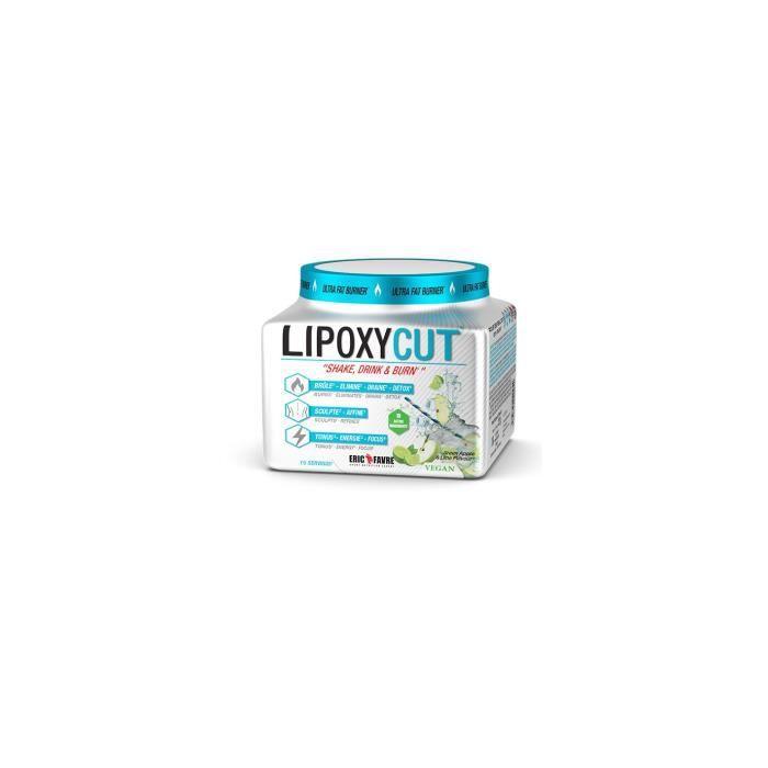 Eric Favre - Lipoxycut 120 gr LIPOXYCUT® est une formule concentrée à base de 19 ingrédients dont le thé vert qui inhibe la