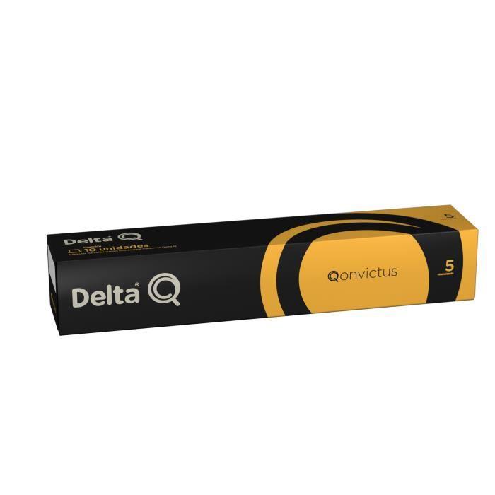 Delta Q Capsules de café Qonvictus n°5 - étui de 10 capsules
