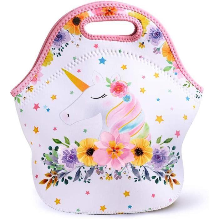Aosbos Sac Isotherme Repas Portable Multi-usages Lunch Bag Sac Deacutejeuner Style Sobre, Gris Classique