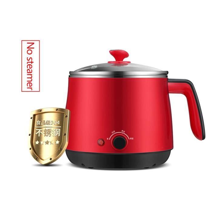 220V multi fonction cuisinière électrique 1.5L cuisson ménage mini puissance marmite petite cuisinière électrique~No ste*HH4425