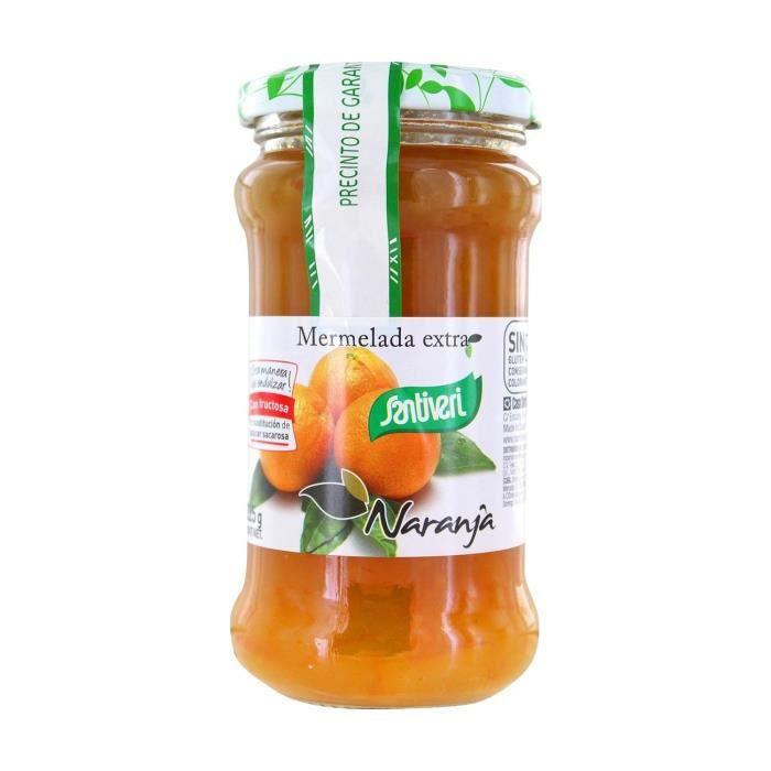 SANTIVERI Confiture d'orange sans sucre 325 g