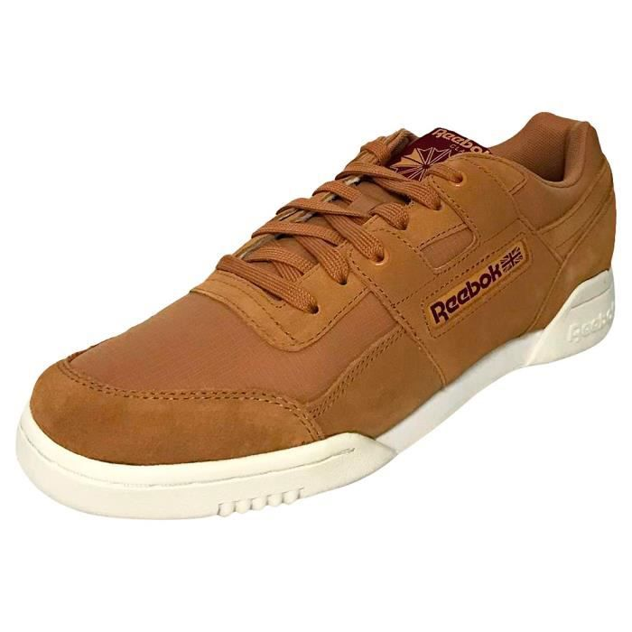 Reebok Workout Plus Mu Homme Baskets Rouille