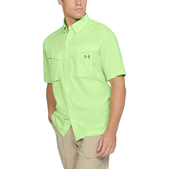 Sweatshirt TQUI2 Tide Chaser manches courtes pêche shirt Taille-M