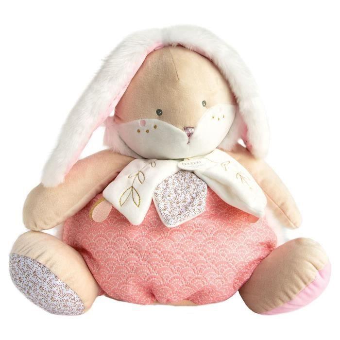 DOUDOU ET COMPAGNIE Lapin de sucre - Range pyjama Rose