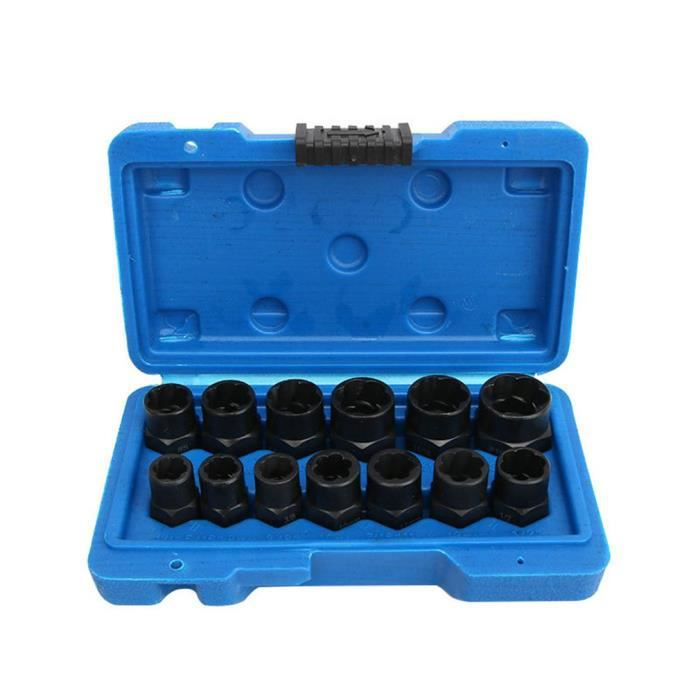 13 pièces écrou boulon extracteur prise ensemble écrou extracteur douille outils de suppression