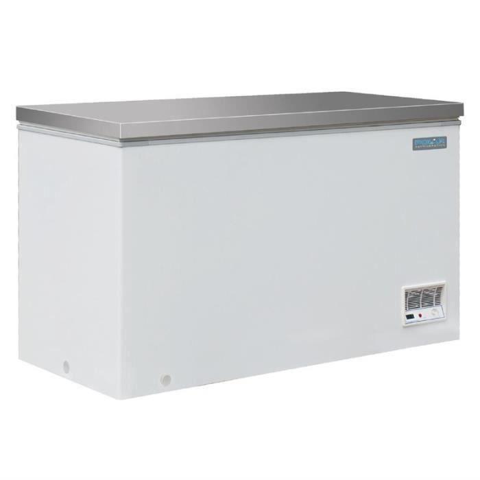 Congélateur coffre inox Polar 516 Litres