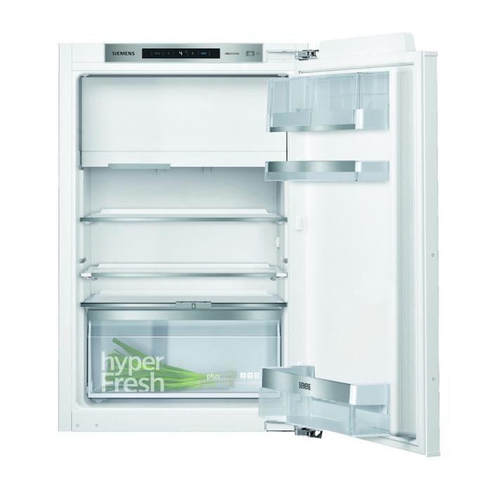 siemens - réfrigérateur 1 porte intégrable à pantographe 124l a++ - ki22lade0