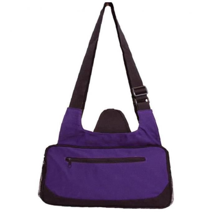 YF30042-Gym Duffle Sac Yoga Mat Carrier Sports Sac Sac à bandoulière Sports de plein air Pour Fitness Article Storage Purple