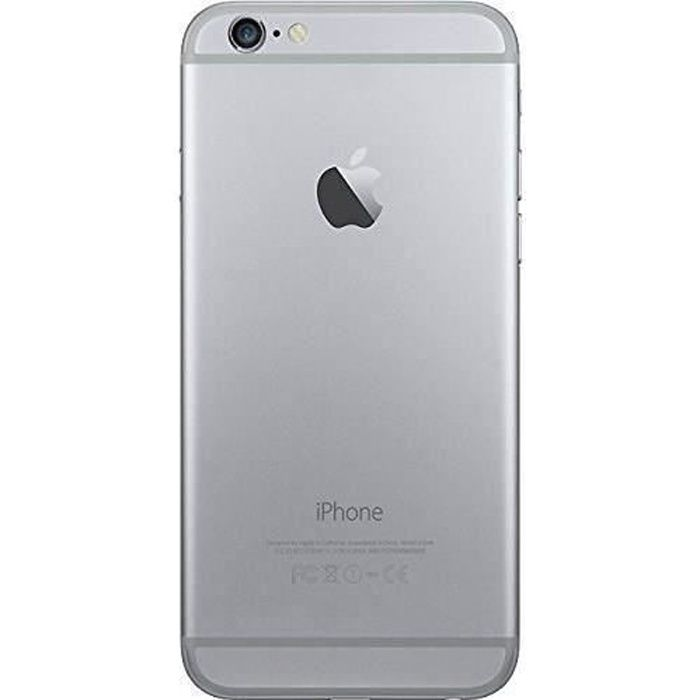 SMARTPHONE iPhone 6 32 Go Gris Sideral Reconditionné - Etat C