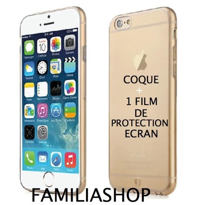 coque iphone 6 en or
