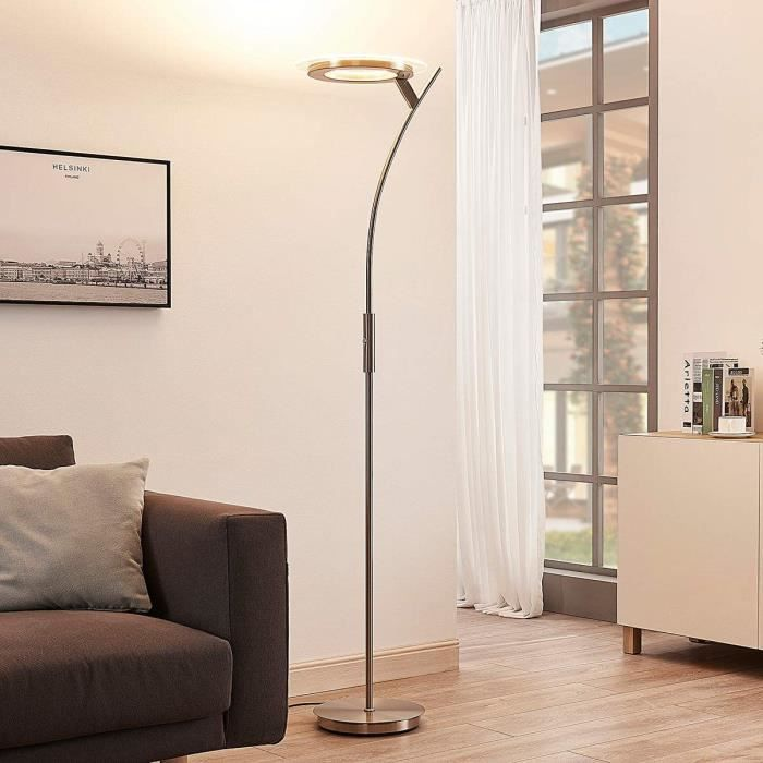 lampadaire led avec telecommande achat vente pas cher. Black Bedroom Furniture Sets. Home Design Ideas