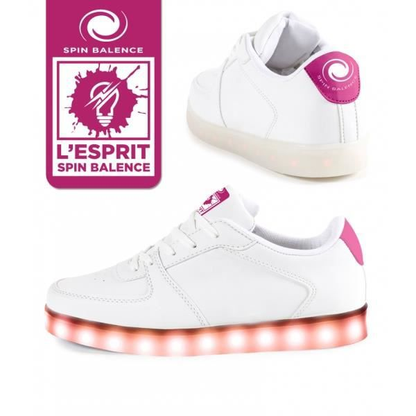 Spinbalence Chaussure à LED L04 - Pointure 34