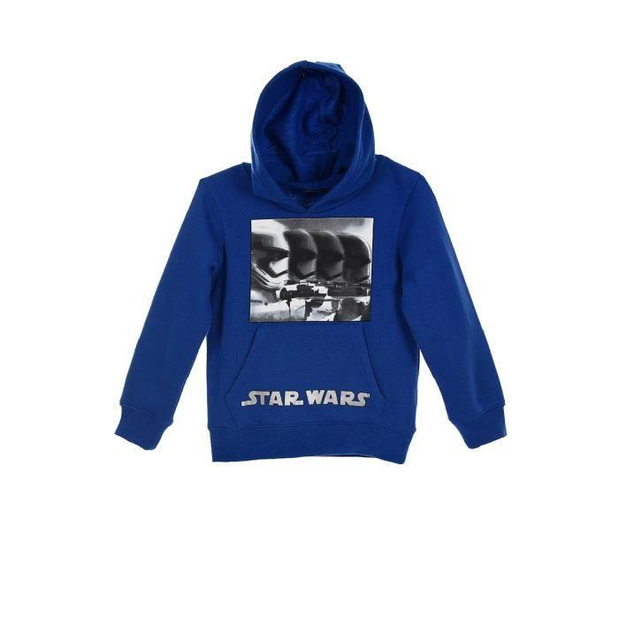 Sweat-Shirt /à Capuche Gar/çon Star Wars