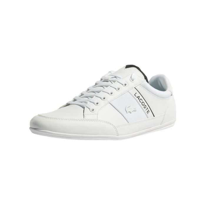 4 318 Baskets Lacoste Us Chaussures Chaymon Homme Blanc Cam X7Uqp
