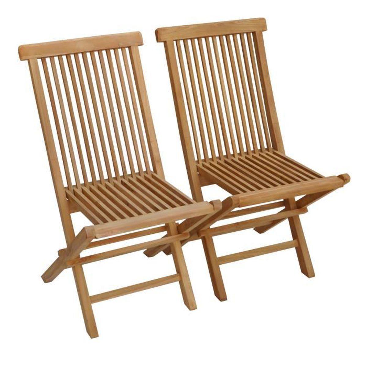 Salon De Jardin Moins De 100 Euros chaise de jardin en teck