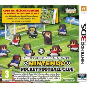 JEU 3DS Nintendo Pocket Football Club Jeu 3DS