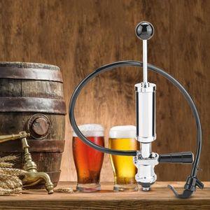 """8/"""" Portable Utile Pompe à Bière Pique-nique Party Distributeur Keg Sanitaire"""