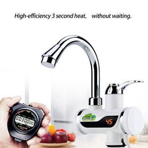 CHAUFFE-EAU 3000W Robinet Chauffe-eau électrique instantané,