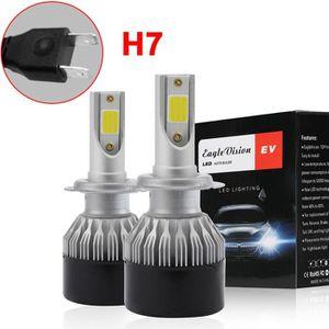 Domii Home 1/paire H7/LED de voiture ampoules de phare lampe tout-en-un H7/Kit de conversion 7200lm 6000/K ext/érieur lampe frontale