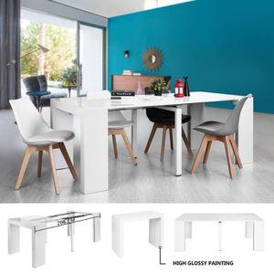 TABLE À MANGER SEULE Table extensible,table à manger rallonge 90-200cm