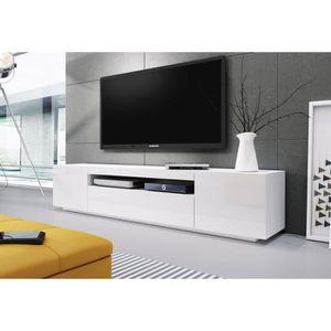 MEUBLE TV BANC TV BLANC - 2M00