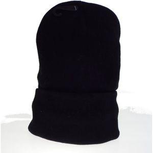 BONNET - CAGOULE 1 bonnet noir mixte homme, femme, adolescent, Tail