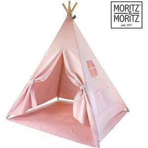 TENTE TUNNEL D'ACTIVITÉ Moritz & Moritz Tipi Enfant avec Tapis - Tipi pour