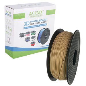 FIL POUR IMPRIMANTE 3D ACENIX® Wood Color PLA Imprimante 3D Filament 1.75