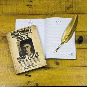 CAHIER Carnet de notes 3D Harry Potter - A5 200 pages