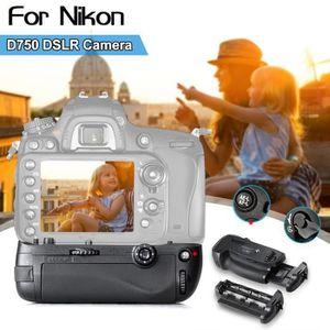 BATTERIE APPAREIL PHOTO Verticale Poignée De Batterie Pour Nikon D850 MB-D