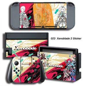 STICKER - SKIN CONSOLE Autocollant - 023 Xenoblade 2 Skin-Couverture viny