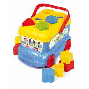 BOÎTE À FORME - GIGOGNE CLEMENTONI Disney Baby  - Le bus des formes de Mic