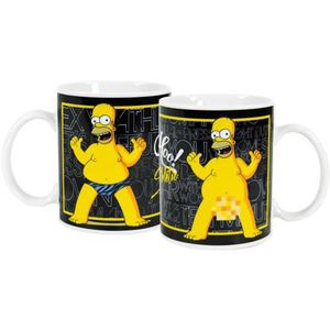mug simpsons achat vente mug simpsons pas cher cdiscount. Black Bedroom Furniture Sets. Home Design Ideas