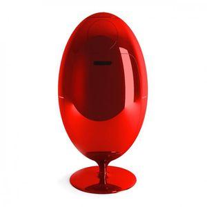 POUBELLE - CORBEILLE Poubelle de tri Gala Glossy SOLDI DESIGN Rouge
