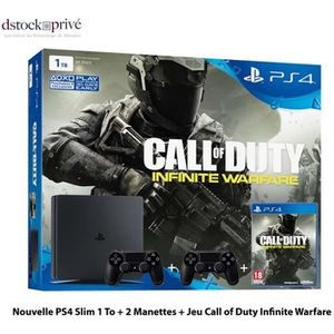 CONSOLE PS4 PACK CONSOLE Sony Playstation 4 PS4 Slim 1 TB + 2