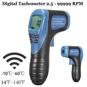 TACHYMÈTRE TEMPSA Numérique Laser Photo Tachymètre 2.5 - 9999