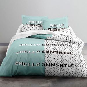 Hello Sunshine matin beau magnifique Moderne Housse De Couette Literie Couette