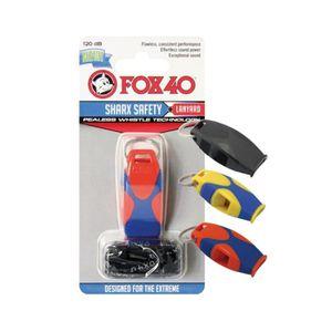 Visiodirect Sifflet Fox 40 Sharx de couleur Rouge//Roi avec cordon