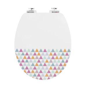 ABATTANT WC WIRQUIN Abattant trendy line Diplomat décor pastel