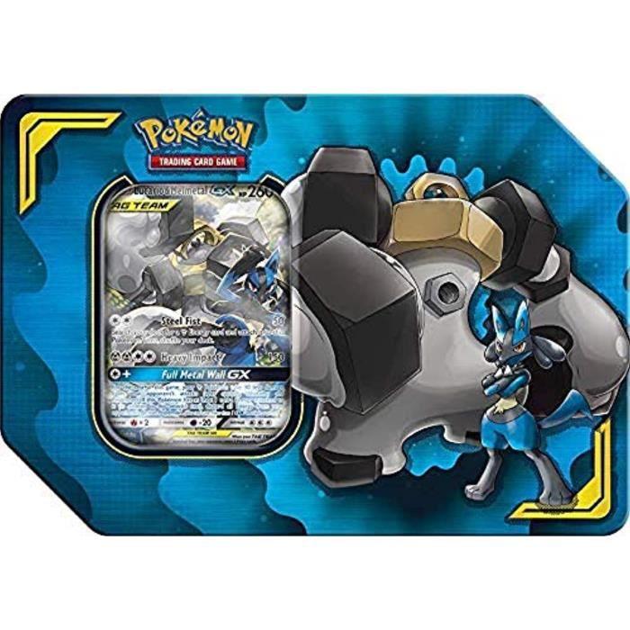 Kit Modelisme A Construire U7BY5 Pokémons POK80540 JCC: Power Partnership Tag Team Tin (un au hasard), Couleurs mélangées