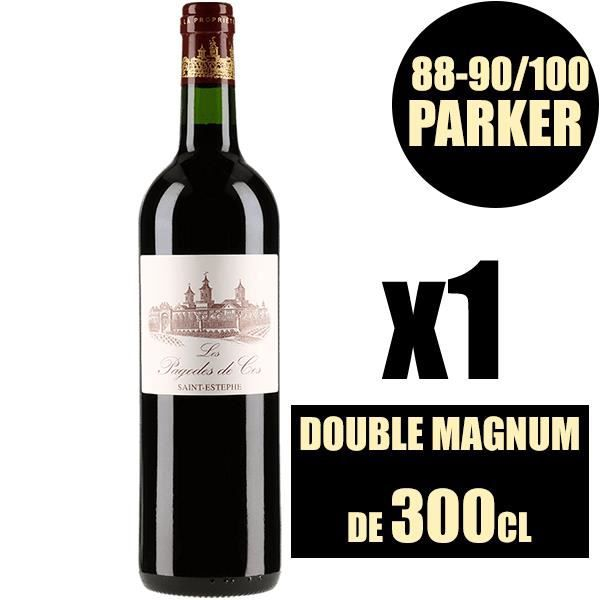 X1 Les Pagodes de Cos 2011 300 cl AOC Saint-Estèphe Rouge 2ème vin Vin Rouge