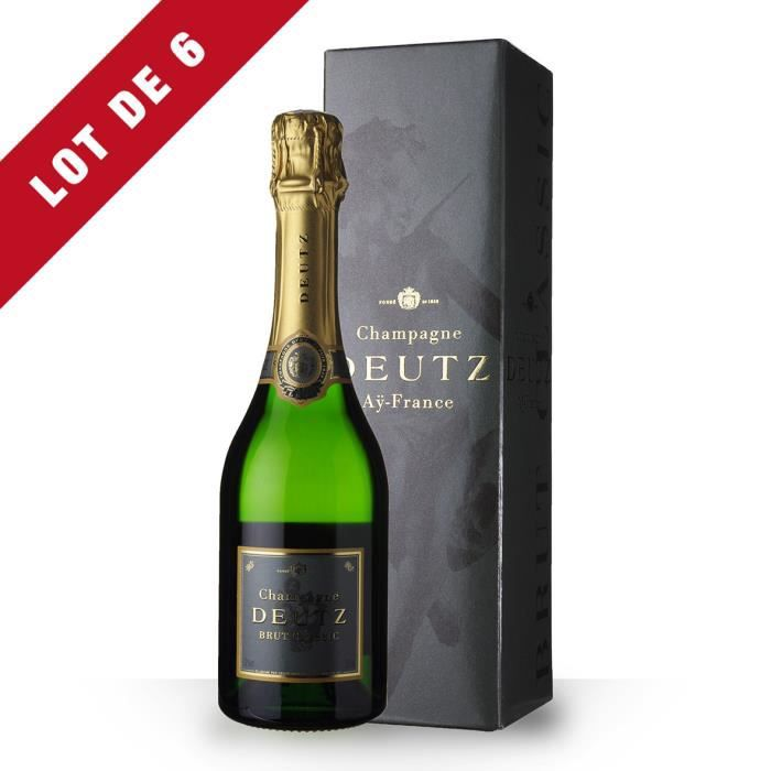 6X Deutz Brut 37,5cl - Etui - Champagne