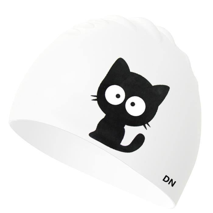 1 Pc bonnet de bain Silicone imperméable Durable de robuste de chapeau pour hommes adultes femmes piscine natation