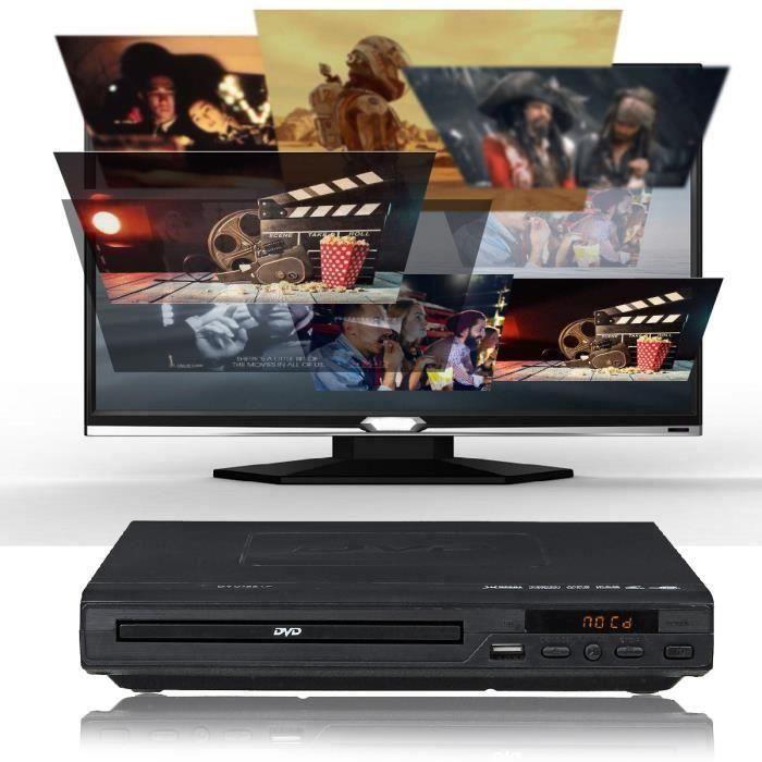 1080P Lecteur DVD Portable Multimédia Numérique DVD TV Gr89754
