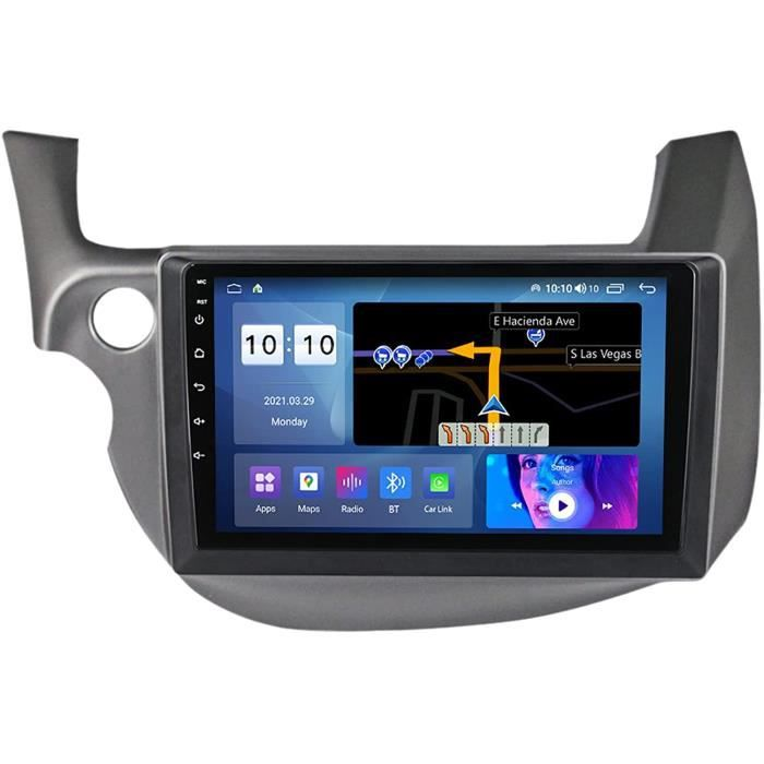 Android 10 Autoradio Navigation GPS Bluetooth Mains Libres pour Honda Jazz 2007-2014 Lecteur de Voiture Stéréo FM-USB-Contrôle 342