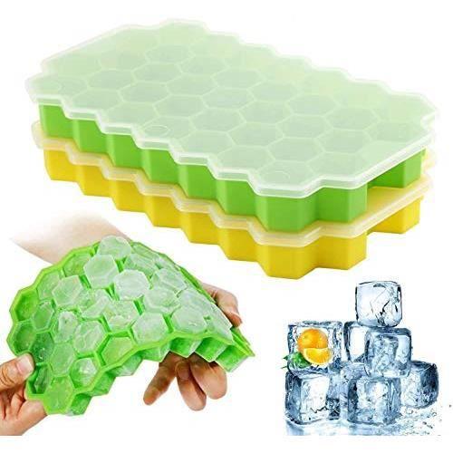 Machine à glaçons Machine à glaçons pour faire de la glace en silicone pour la nourriture Jaune / Vert