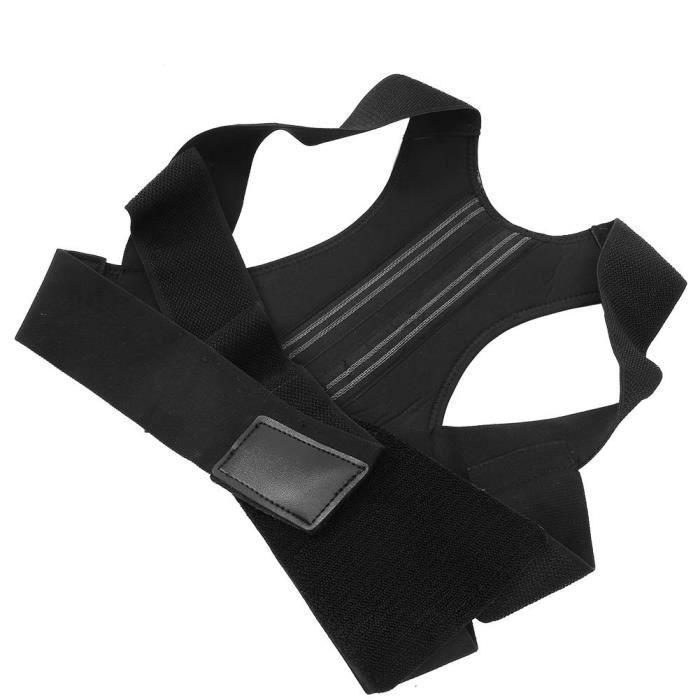 Correcteur de posture dorsale pour hommes et femmes, soutien réglable de la colonne vertébrale du dos lisseur dorsal ceinture de