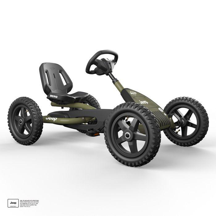 Berg Kart à pédales Jeep junior go-kart - 3/8 ans - 24.21.34 - Vélo et Véhicule pour Enfant