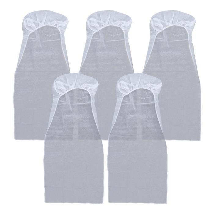 5pcs blancs de siège en blanc couvre-siège non housse de siege - couvre siege confort conducteur passager