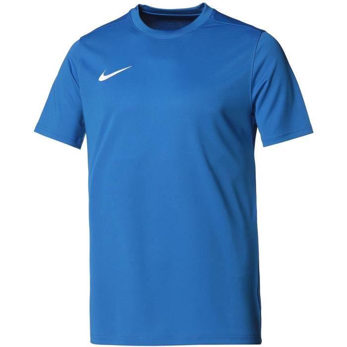 NIKE Maillot de football Dri-FIT Park 7 JBY - Homme - Bleu et blanc